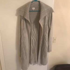 A New Day Cardigan in Gray